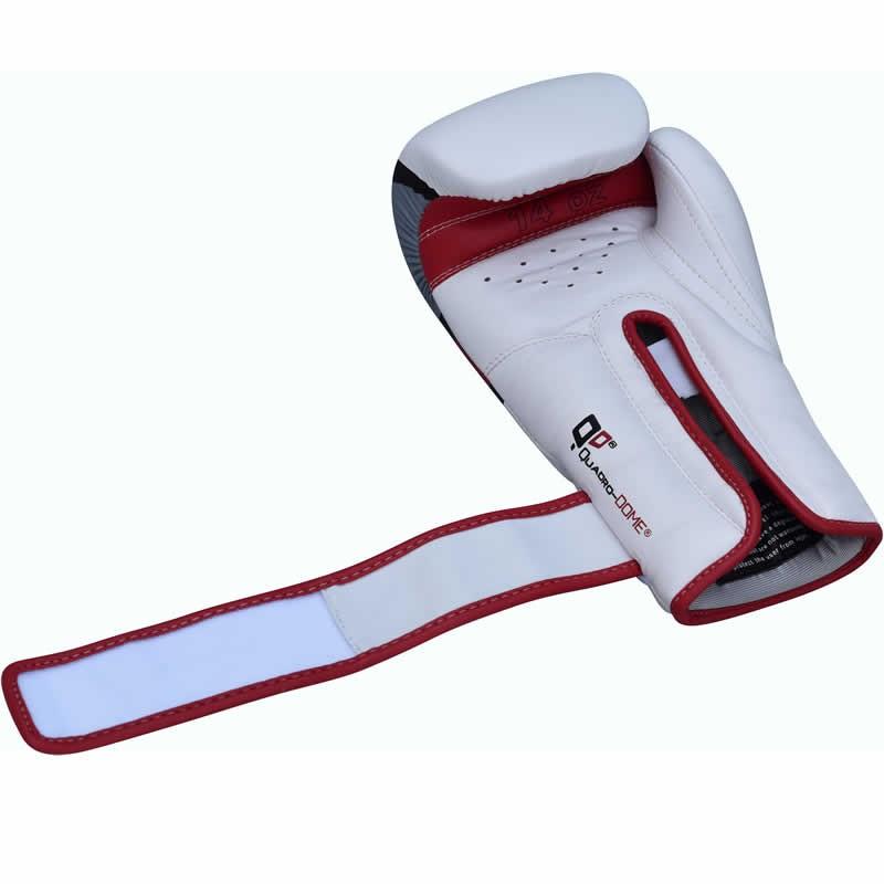 Боксерские перчатки RDX Rex Leather Red 10 ун.
