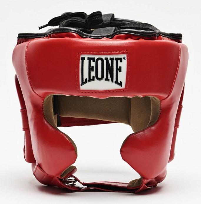 Боксерский шлем Leone Training Red M