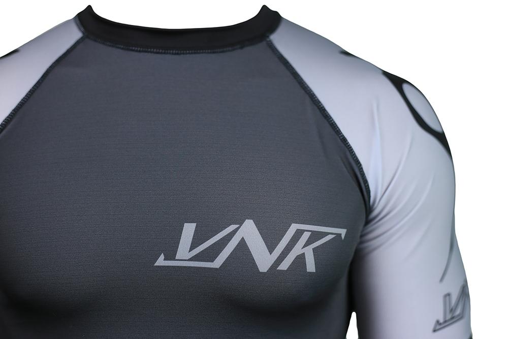 Рашгард с коротким рукавом VNK Scath Grey S