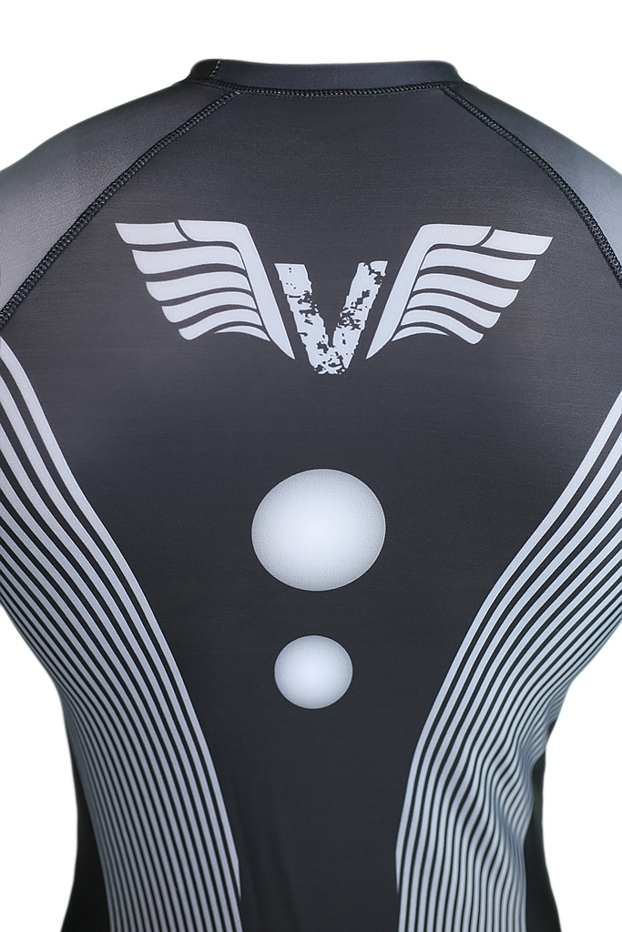 Рашгард с длинным рукавом VNK Scath Grey S