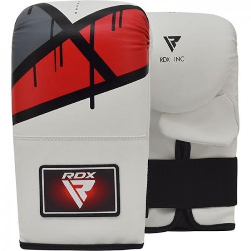 Снарядные перчатки, битки RDX Rex Leather Red