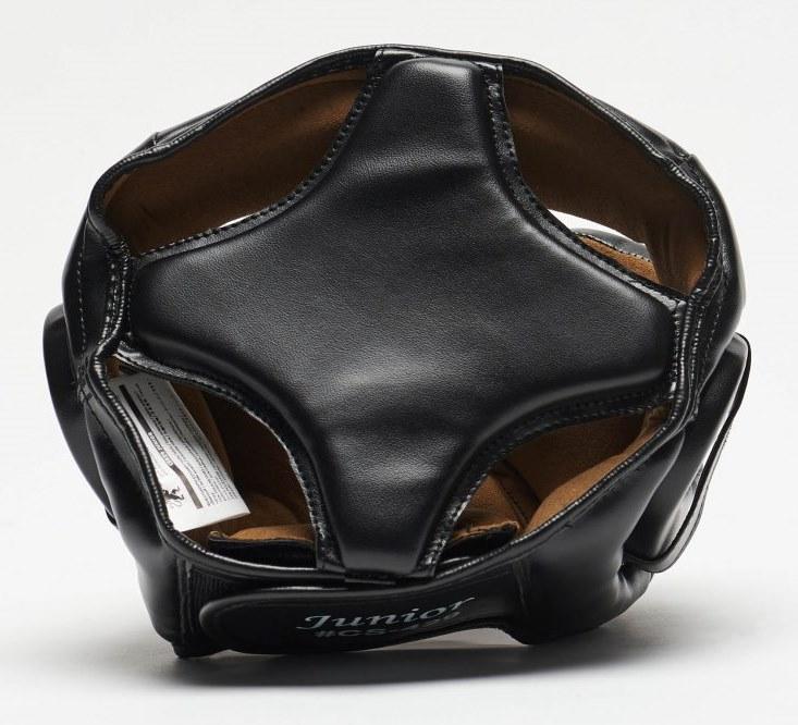 Боксерский шлем Leone Junior Black XS