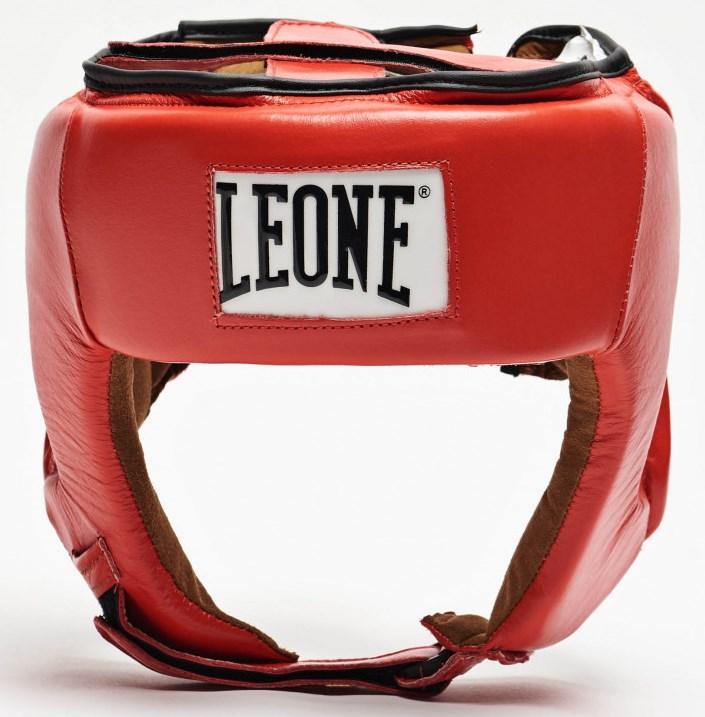 Боксерский шлем для соревнований Leone Contest Red S