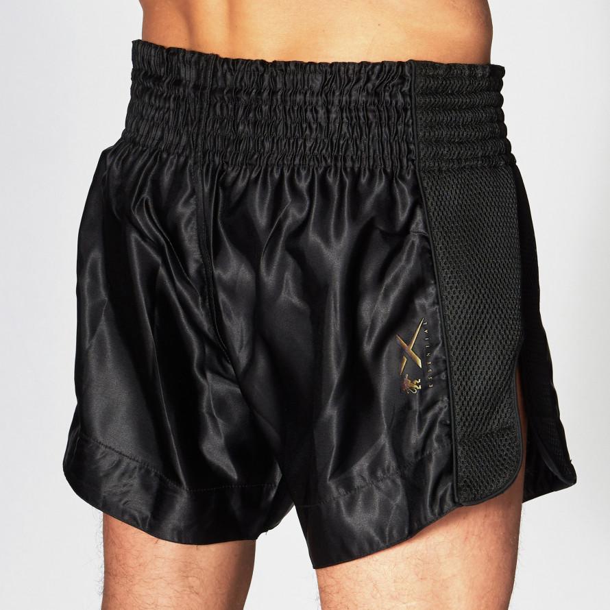 Шорты для тайского бокса Leone Essential Black S