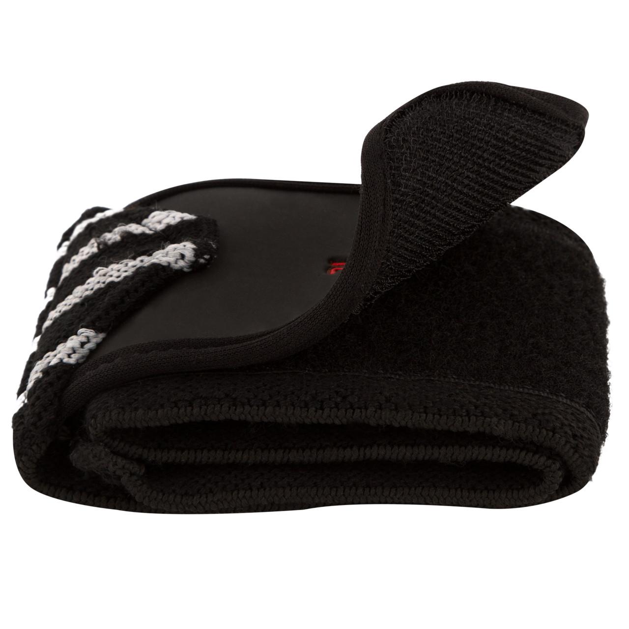 Бинты для запястий PowerPlay 3081 черно-серые