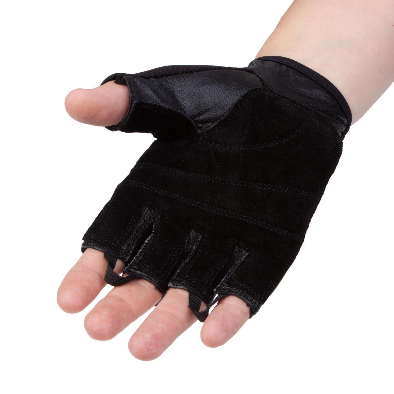Перчатки для фитнеса PowerPlay 2154 Черные M