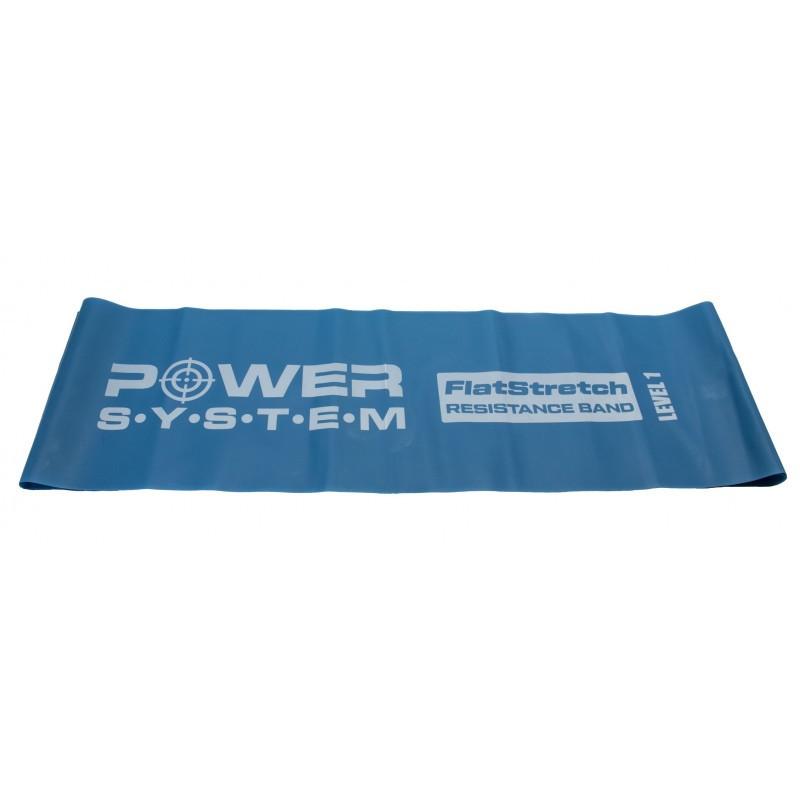 Лента-эспандер Power System PS-4121 Flat Stretch 2,5кг Blue