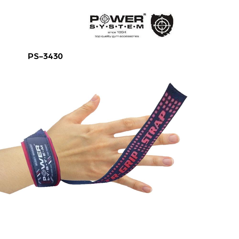 Лямки для тяги Power System XTR-Grip Straps PS-3430 Black/Red