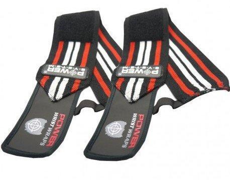 Кистевые бинты Power System Wrist Wraps PS-3500 Red/Black