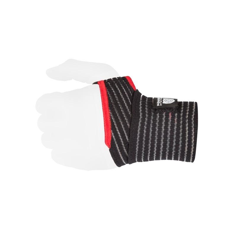 Кистевые бинты Power System Elastic Wrist Support PS-6000 Black/Red