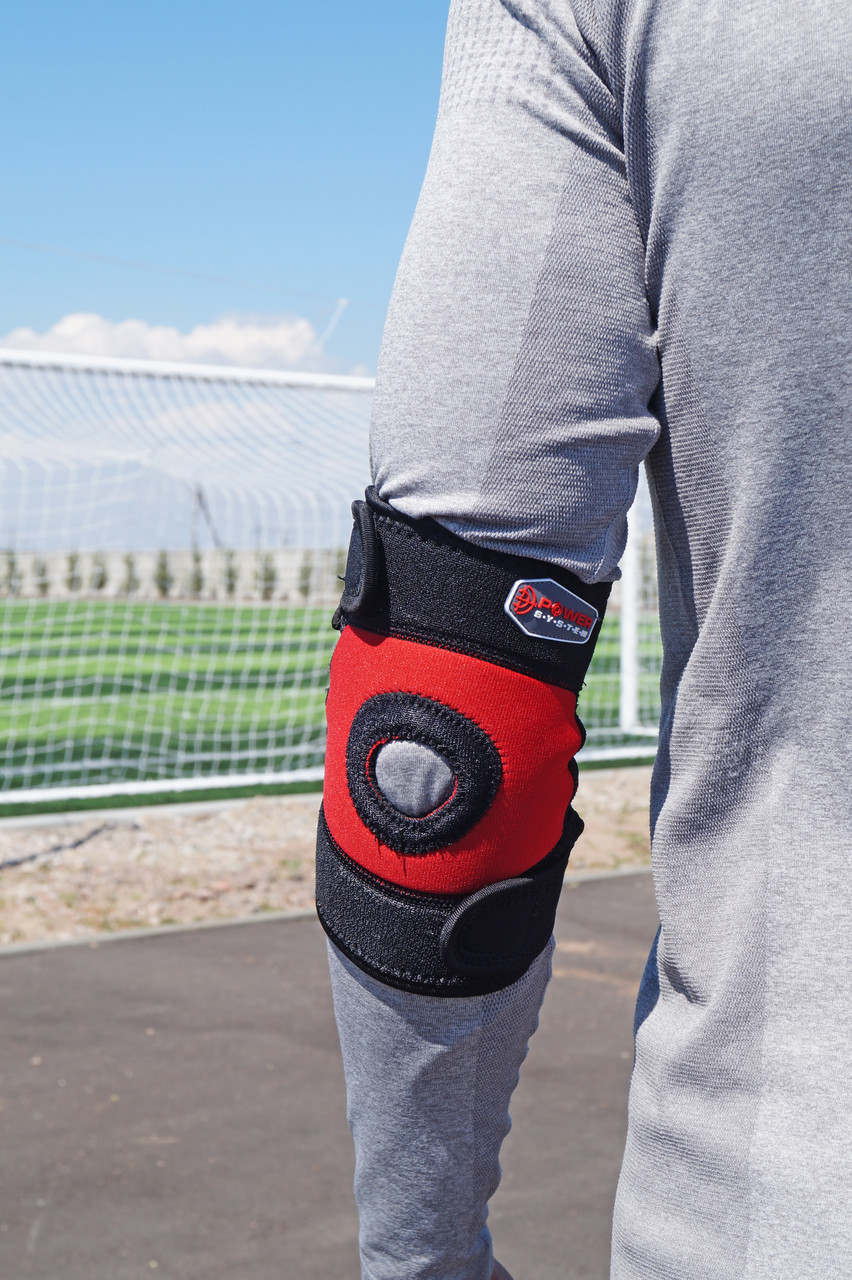 Налокотник спортивный Power System Neo Eibow Support PS-6011 Black/Red M