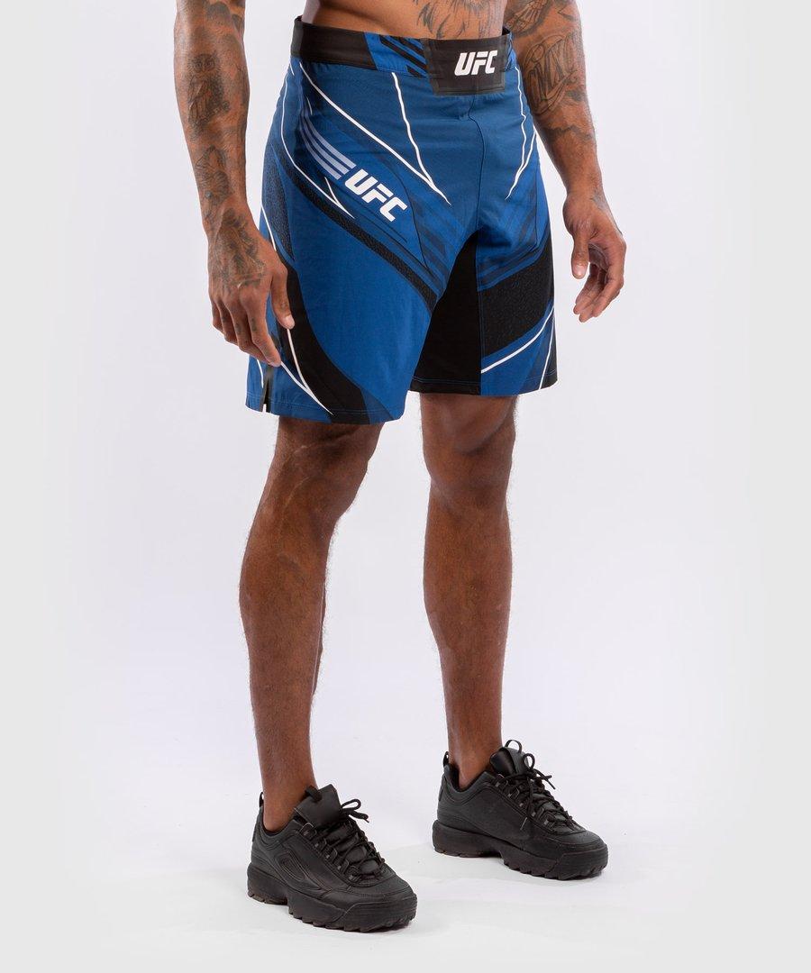 Шорты UFC Venum authentic fight night men's - long fit синие XS