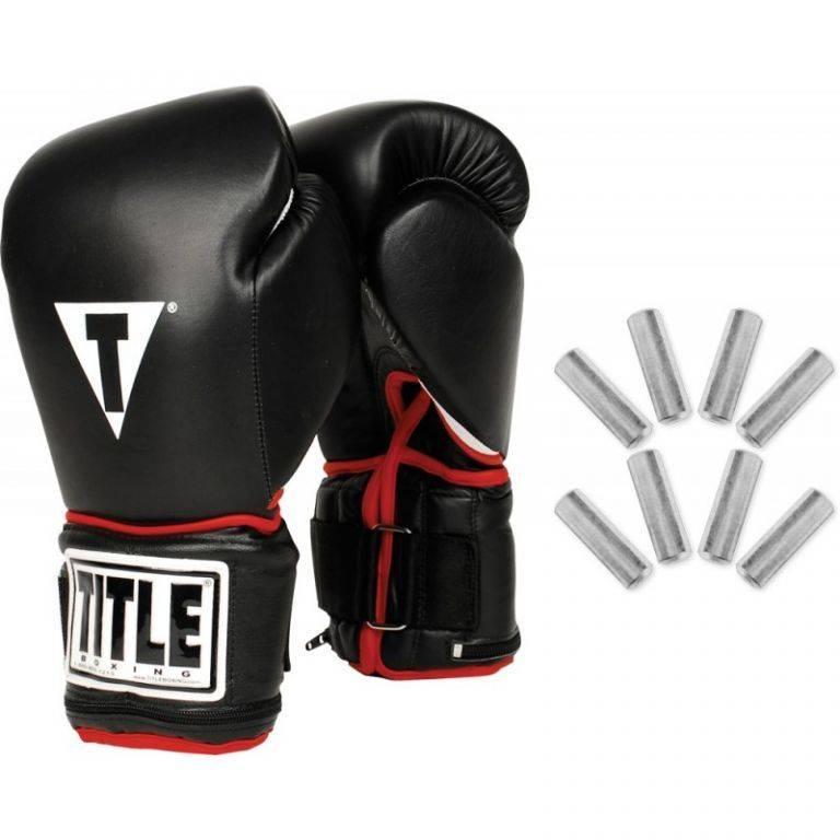 Перчатки снарядные TITLE Power Weighted Super Bag Gloves