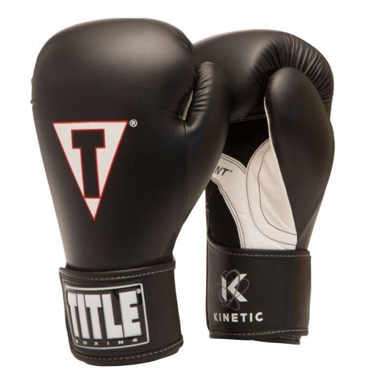 Перчатки для бокса TITLE Kinetic Aerovent Boxing Gloves