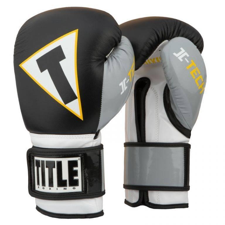 Перчатки боксерские TITLE Icon I-tech Training Gloves-12