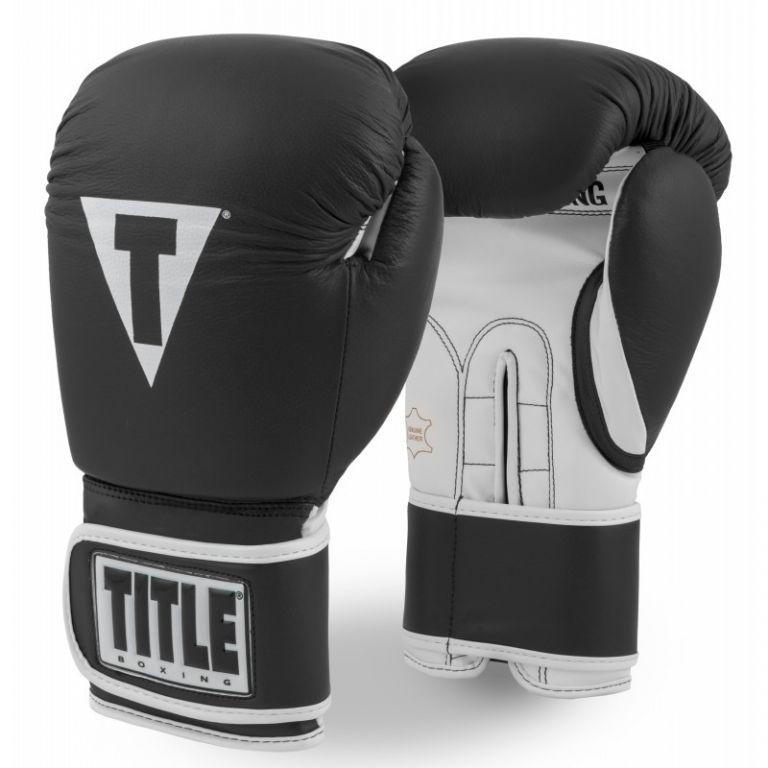 Перчатки для бокса TITLE Pro Style Leather Training Gloves 3.0-12