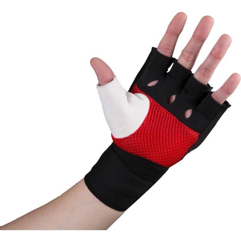 Быстрые бинты TITLE Gel Assault Glove Wraps-S/M