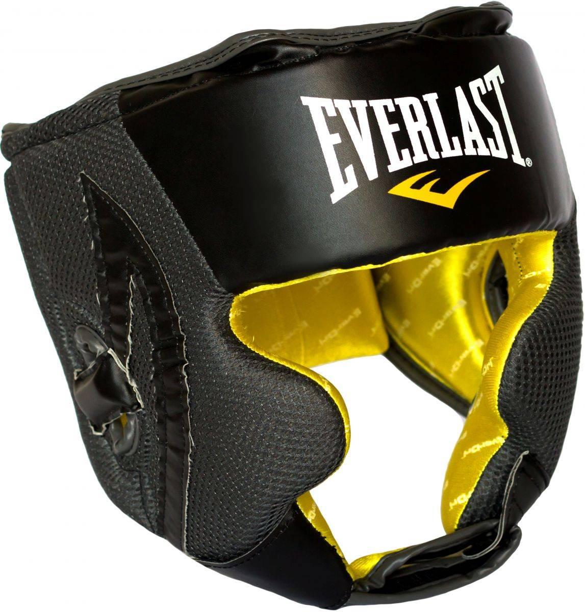 Боксерский шлем Everlast Evercool Headgear-универсальный