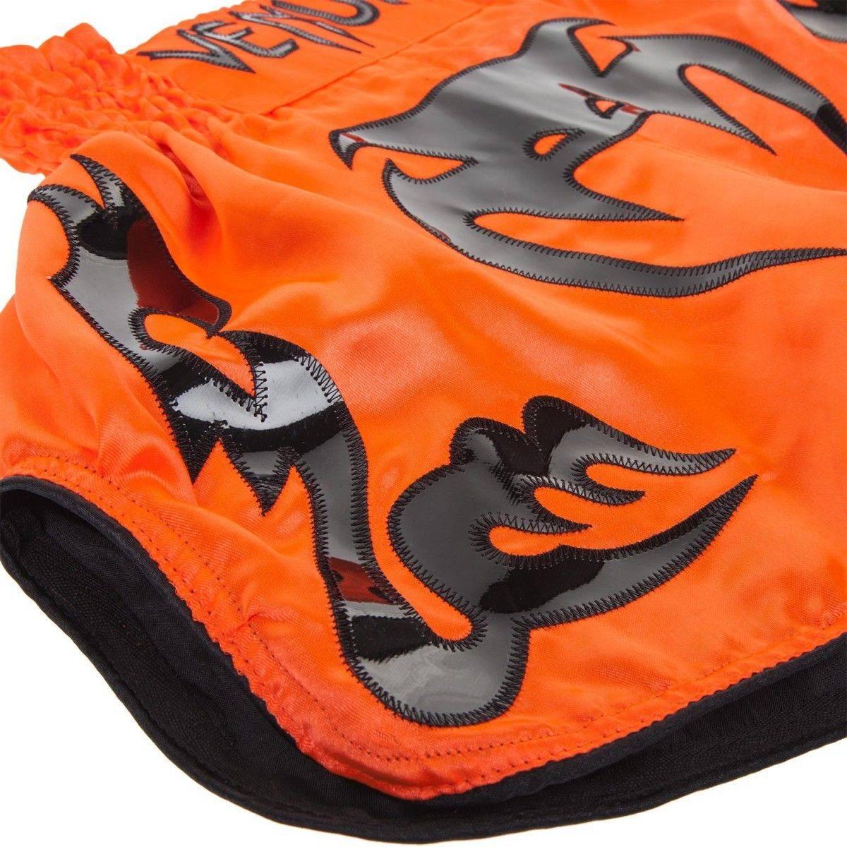 Шорты Муай Тай Venum Bangkok Inferno Muay Thai Shorts Orange