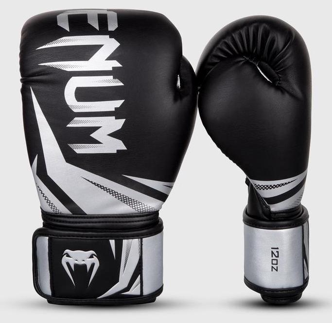 Перчатки для бокса Venum Challenger 3.0 Boxing Gloves BK/GR-14