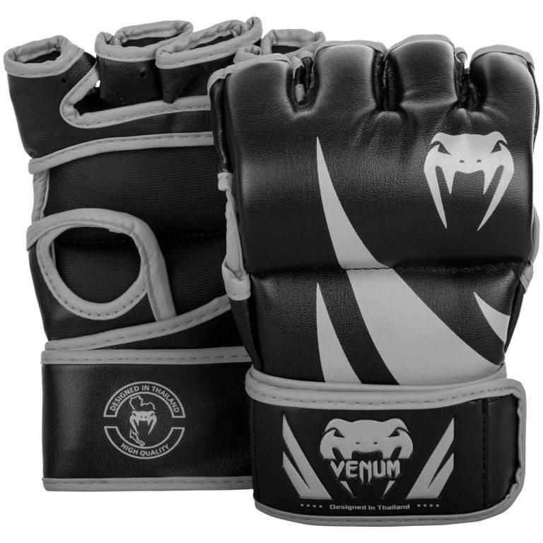 ММА Перчатки Venum Challenger MMA Gloves Black/Grey-M