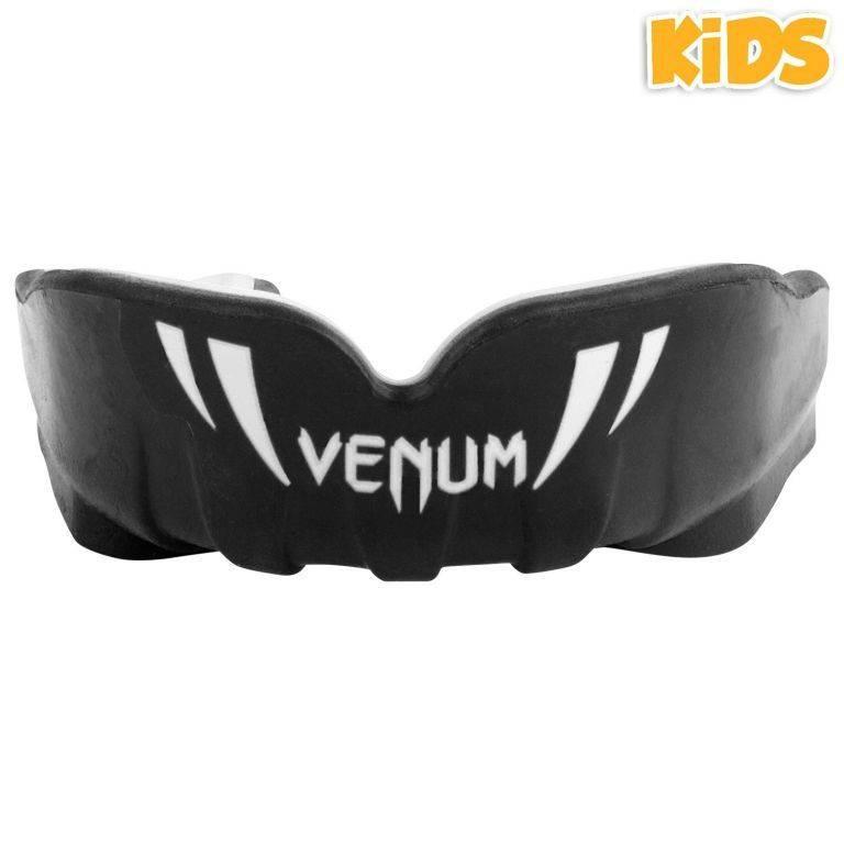 Детская капа Venum Challenger Kids Mouthguard-черно-белый