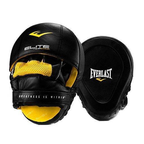 Лапы Everlast Elite Leather Punch Mitts-23 х 19