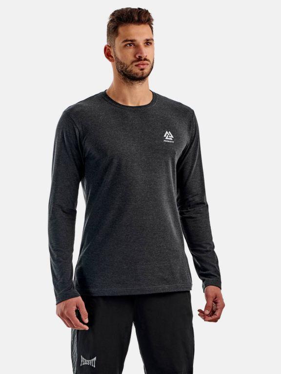 Кофта Peresvit Dynamic Cotton Long Sleeve T-shirt Carbon Heather-S