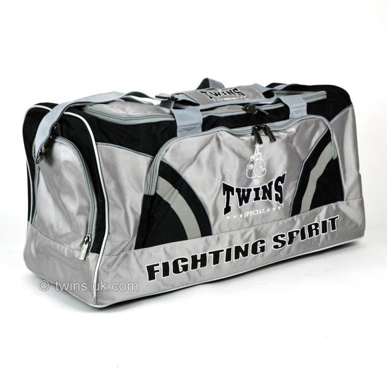 Сумка Twins BAG-2-черно-серая