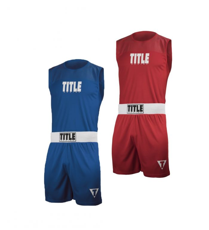 Боксерская форма TITLE Choice Performance Amateur Boxing-XXS