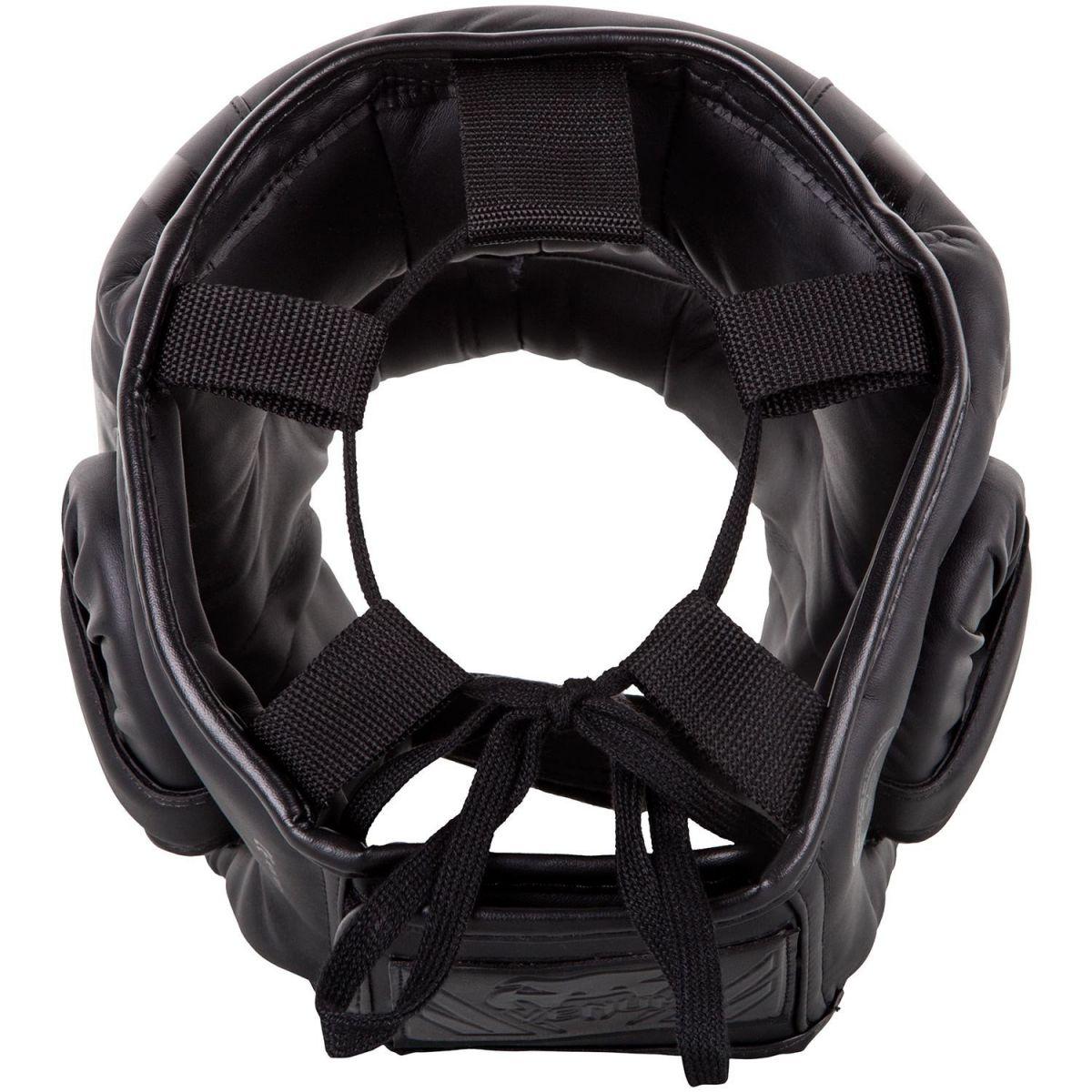 Бампер Venum Elite Iron Headgear Black-универсальный