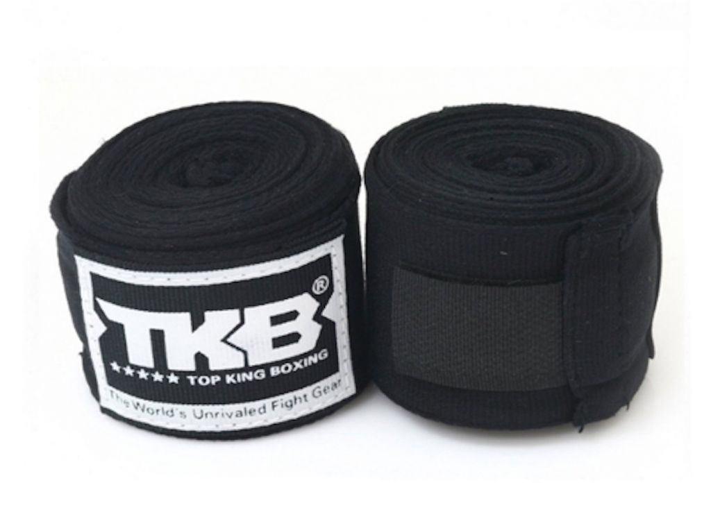 Бинты Top King (TKHWR-01) 4м-черный