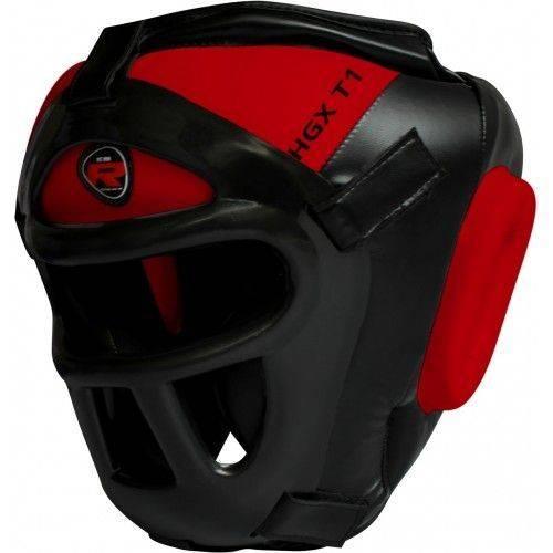 Боксерский тренировочный шлем RDX Guard Red-S