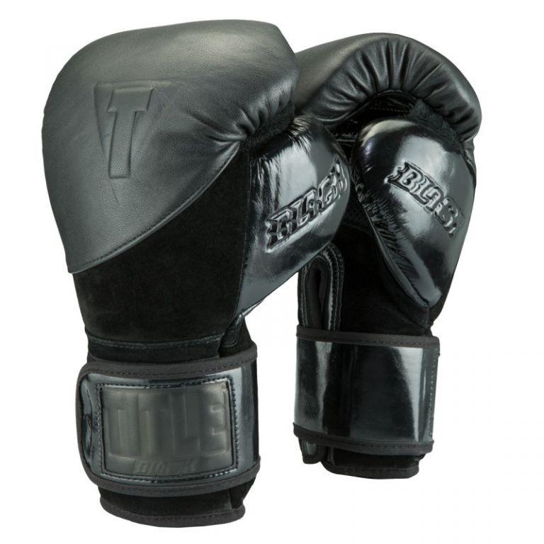 Перчатки для бокса TITLE BLACK Blitz Sparring Gloves-14