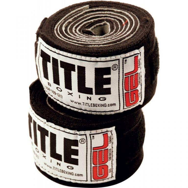 Бинты TITLE Gel Iron Fist Wraps-3,05м
