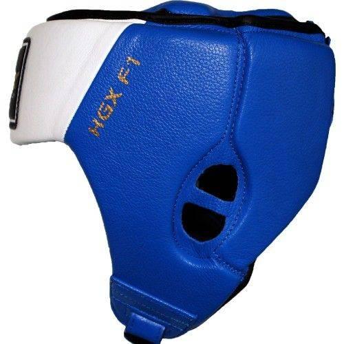 Боксерский шлем RDX для соревнований Blue