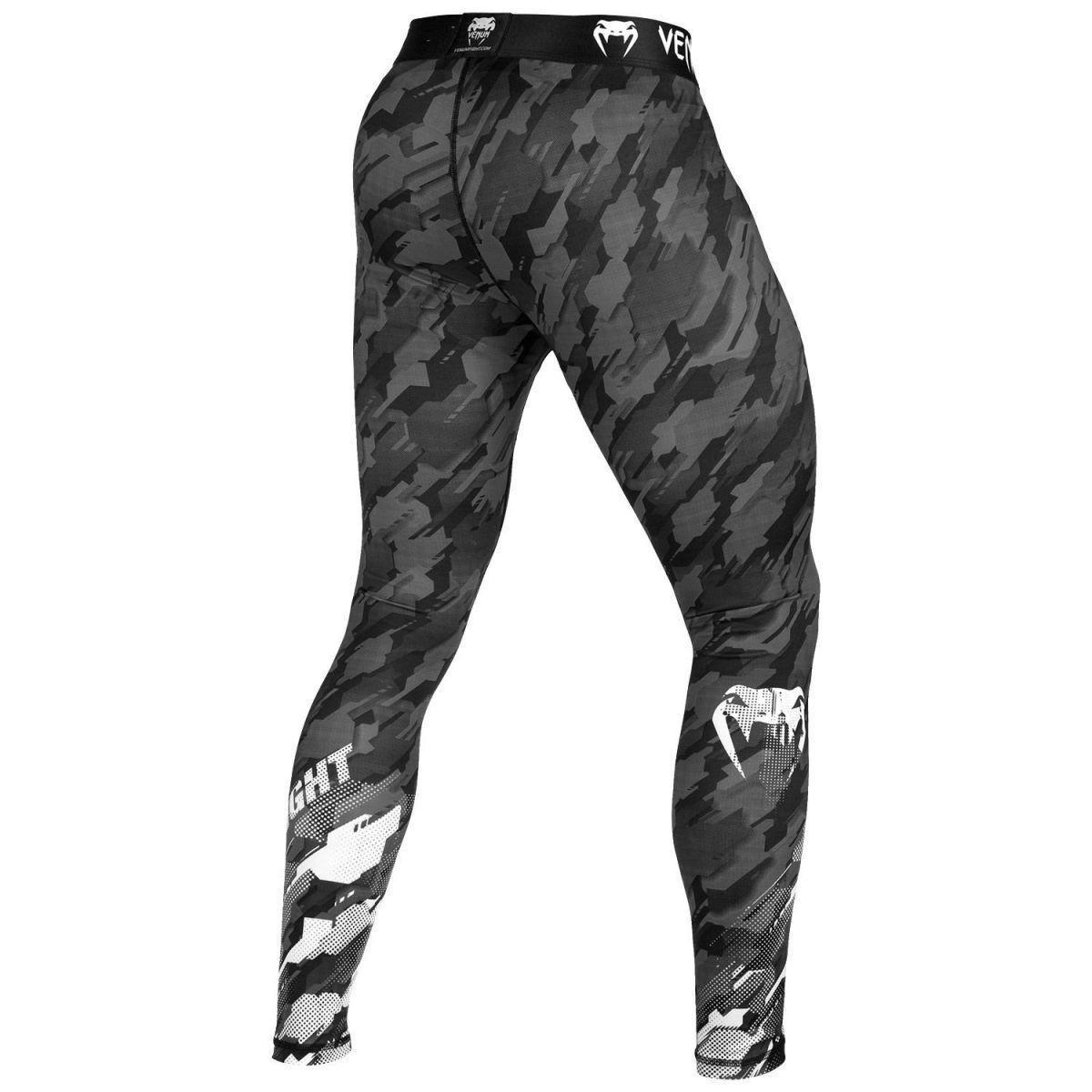 Штаны компрессионные Venum Tecmo Spats Dark Grey-L
