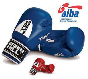 "Перчатки боксерские Green Hill ""Tiger"" AIBA 10 унций"