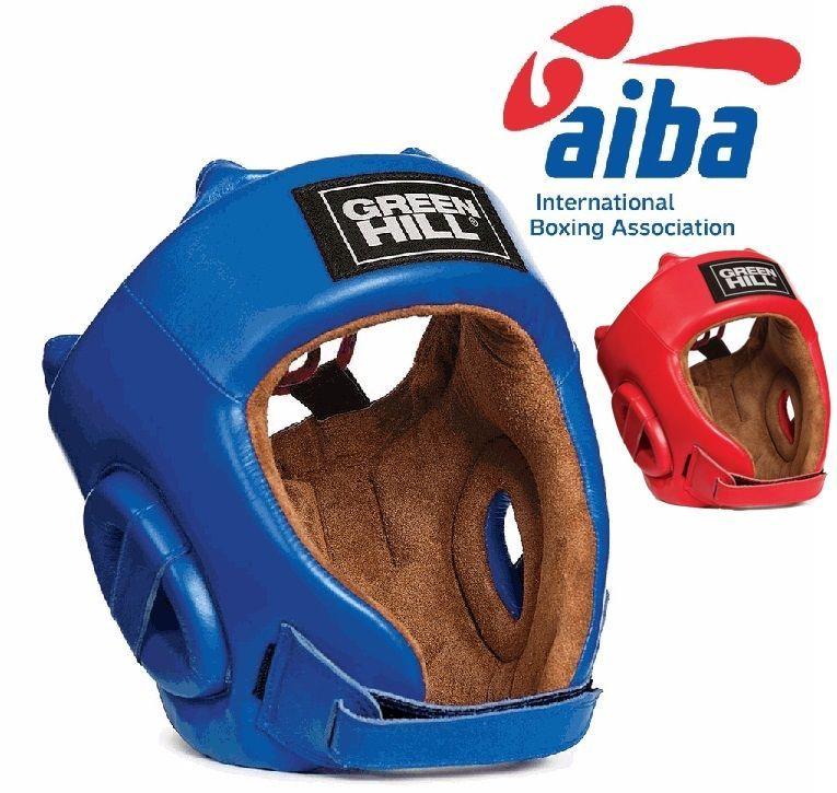 Боксерский шлем Green Hill Five star AIBA-S