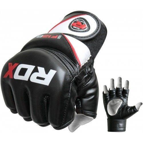 Перчатки ММА RDX Rex Leather-M
