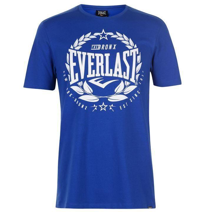 Футболка Everlast Laurel T-Shirt Mens Blue-S
