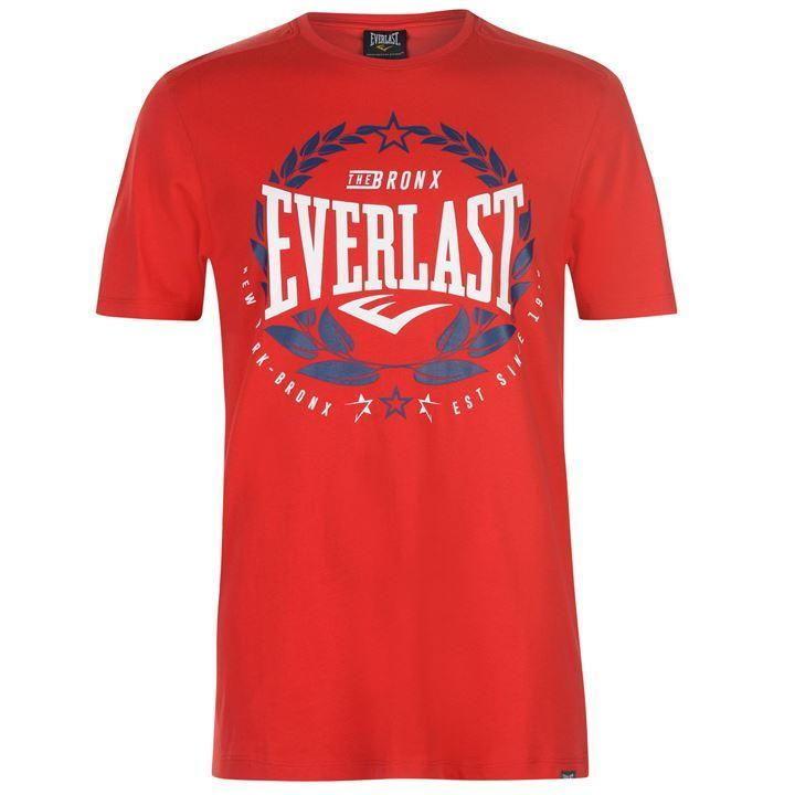 Футболка Everlast Laurel T-Shirt Mens Red-S
