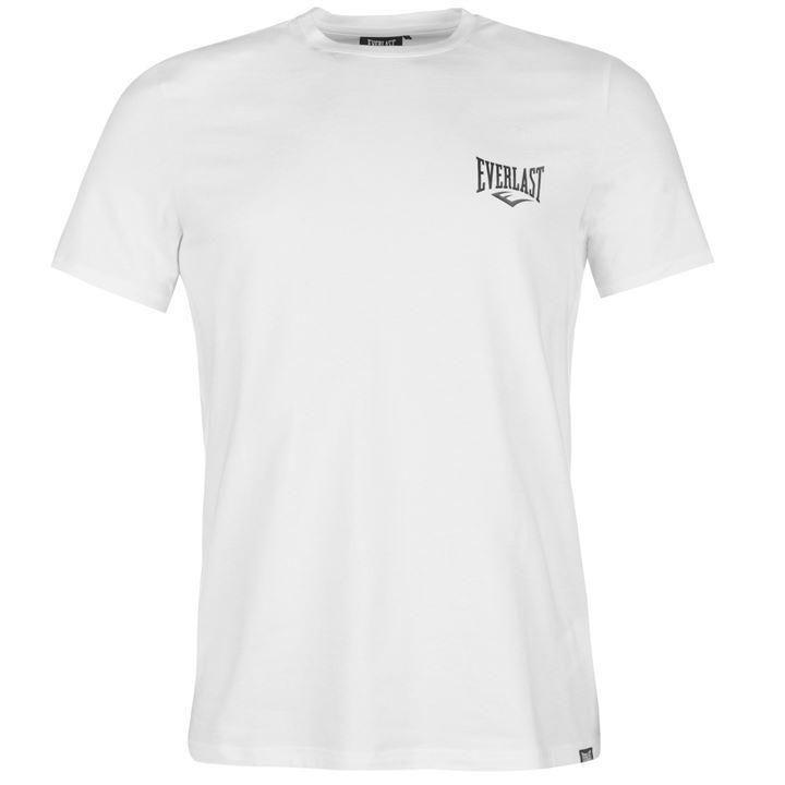 Футболка Everlast Logo T-shirt Mens White-S