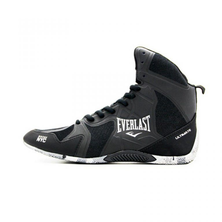 Обувь для бокса Everlast Ultimate Boxing Shoes Black-40