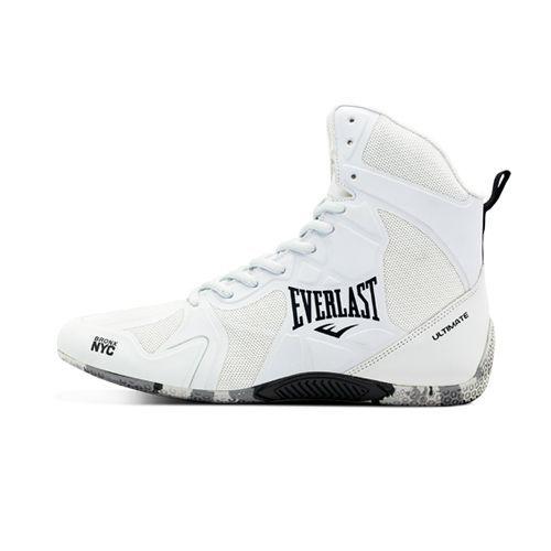 Боксерская обувь Everlast Ultimate Boxing Shoes White-39