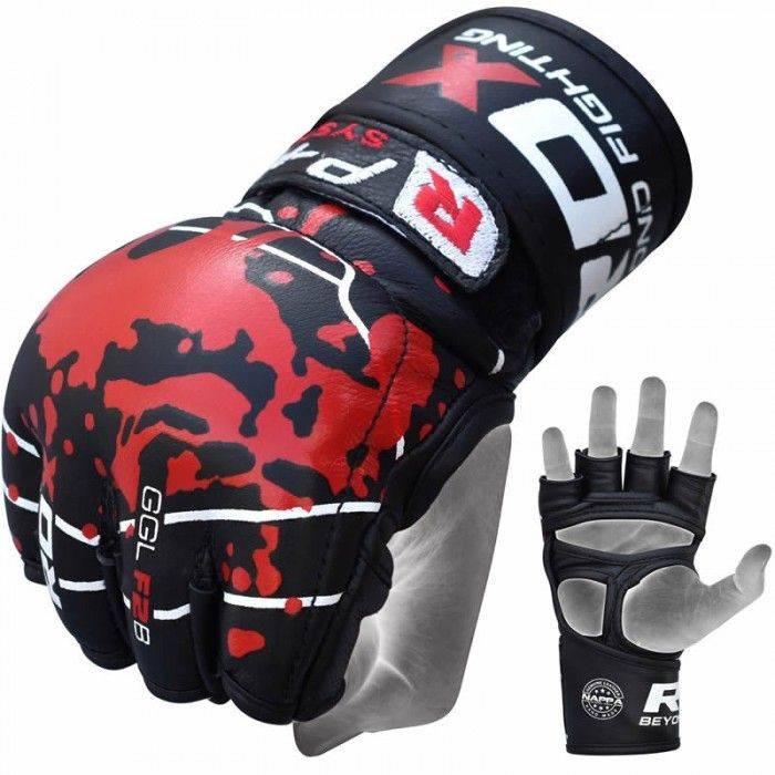 Перчатки для ММА RDX Blood-S