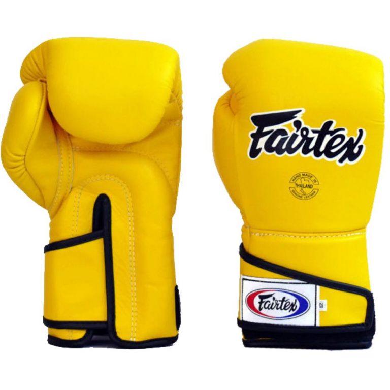 Перчатки Fairtex BGV6 Stylish Angular Spar Yellow-12