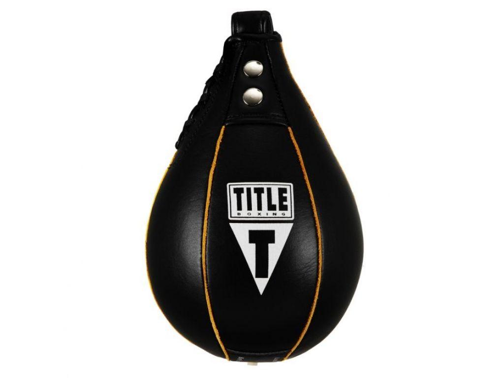 Пневматическая груша TITLE Leather Super Fast Speed Bag-13 х 20 см