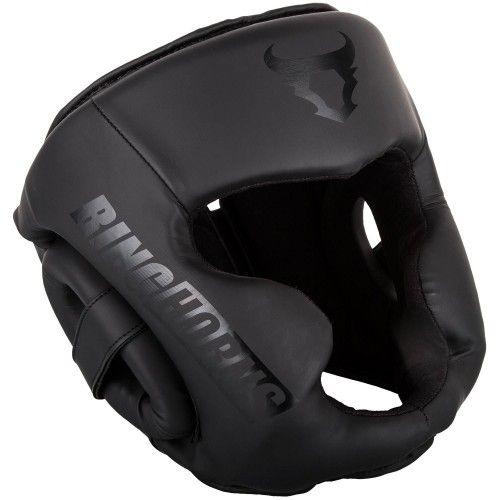 Боксерский шлем Ringhorns Charger Headgear-черно-черный