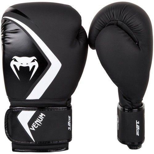 Боксерские перчатки Venum Contender 2.0 Boxing Gloves Black/White-10